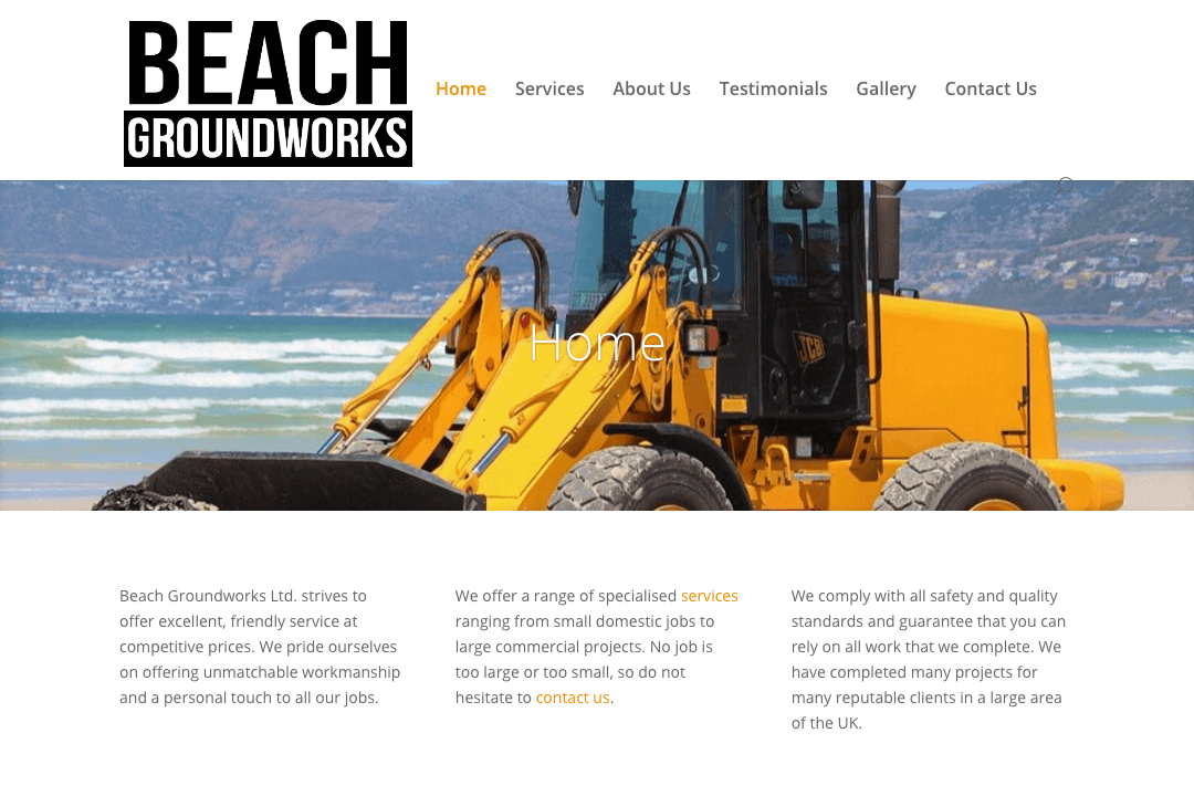 Beach Groundworks